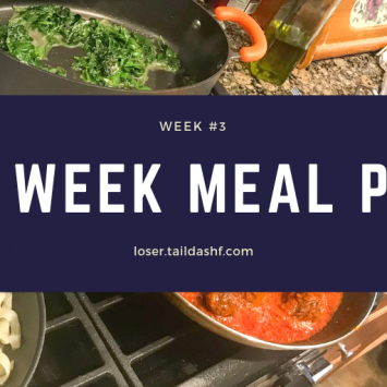 One-week Meal Plan